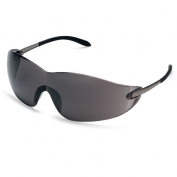 Crews Blackjack Safety Glasses - Metal Temples - Gray Lens