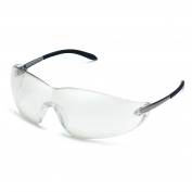Crews S2119 Blackjack Safety Glasses - Metal Temples - Indoor/Outdoor Mirror Lens