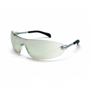 Crews S2219 Blackjack Elite Safety Glasses - Metal Temples - Indoor/Outdoor Mirror Lens