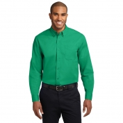 Port Authority S608 Long Sleeve Easy Care Shirt - Court Green