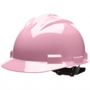 Bullard S61LPP Standard Hard Hat - Pinlock Suspension - Light Pink