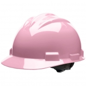 Bullard S61LPR Standard Hard Hat - Ratchet Suspension - Light Pink