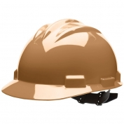 Bullard S61TNP Standard Hard Hat - Pinlock Suspension - Tan