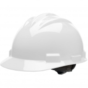 Bullard S61WHR Standard Hard Hat - Ratchet Suspension - White