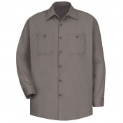 Red Kap SC30 Men's Wrinkle Resistant Cotton Work Shirt - Long Sleeve