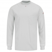 Bulwark FR SET2 Long Sleeve Tagless T-Shirt - EXCEL FR - Grey