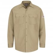 Bulwark FR SEW2 Men's Work Shirt - EXCEL FR - 7 oz. - Khaki