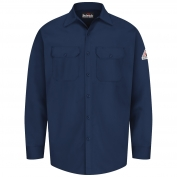 Bulwark FR SEW2 Men's Work Shirt - EXCEL FR - 7 oz. - Navy