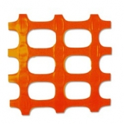 Resinet Heavy Duty Snow Control Fence - 4 ft x 100 ft - Orange