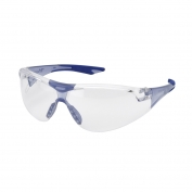 Elvex SG-18C-Slim-BLUE Avion Safety Glasses - Blue Frame - Clear Lens