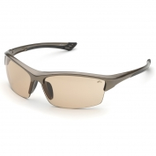 Elvex SG-350LB Sonoma Safety Glasses - Bronze Frame - Light Brown Lens
