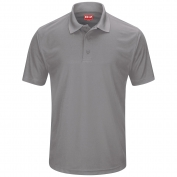 Red Kap SK96 Men's Performance Knit Pocketless Core Polo - Short Sleeve
