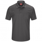 Red Kap SK98 Men's Performance Knit Pocket Polo - Short Sleeve