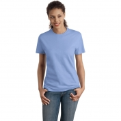 Hanes SL04 Ladies Nano-T Cotton T-Shirt  - Carolina Blue