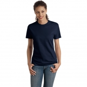 Hanes SL04 Ladies Nano-T Cotton T-Shirt  - Deep Navy