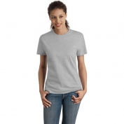 Hanes SL04 Ladies Nano-T Cotton T-Shirt  - Light Steel