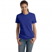 Hanes SL04 Ladies Nano-T Cotton T-Shirt - Deep Royal