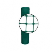 Resinet Square Mesh Fence 4x100 ft - Green