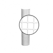 Resinet Square Mesh Fence 4x50 ft - White