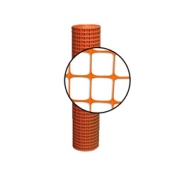 Resinet 6 ft Crowd Control Fence 6x100 ft - Orange