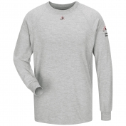 Bulwark FR SMT2GY Long Sleeve Performance T-Shirt - CoolTouch 2 - Grey