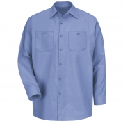 Red Kap SP14 Men's Industrial Work Shirt - Long Sleeve