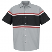 Red Kap SP24GM Technician Shirt - Short Sleeve