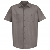 Red Kap SP24 Men's Industrial Work Shirt - Short Sleeve