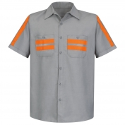 Red Kap SP24WM Enhanced Visibility Shirt - Short Sleeve