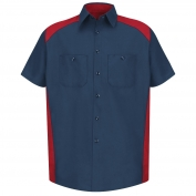 Red Kap SP28 Motorsports Shirt - Short Sleeve