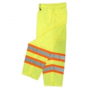 Radians SP61-EPGS Class E Two-Tone Surveyor Safety Pants - Yellow/Lime
