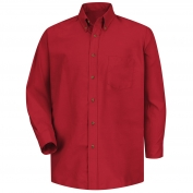 Red Kap SP90 Men's Poplin Dress Shirt - Long Sleeve