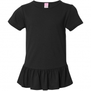 LAT 2627 Girls' Ruffle T-Shirt