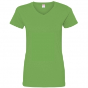 LAT 3507 Women's Fine Jersey V-Neck T-Shirt