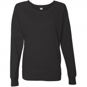 LAT 3762 Women's French Terry Slouchy Pullover
