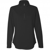 LAT 3764 Women's French Terry Quarter-Zip Pullover