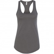 Next Level 1533 Women's Ideal Racerback Tank - Dark Grey