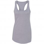 Next Level 1533 Women's Ideal Racerback Tank - Heather Grey