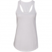 Next Level 1533 Women's Ideal Racerback Tank - White
