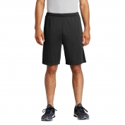 Sport-Tek ST355P PosiCharge Competitor Pocketed Shorts - Black