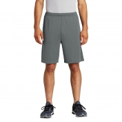 Sport-Tek ST355P PosiCharge Competitor Pocketed Shorts - Iron Grey