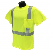 Radians ST11-2PGS Class 2 Mesh Safety Shirt - Yellow/Lime