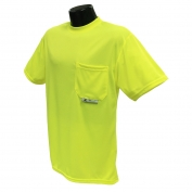 Radians ST11-NPGS Non-ANSI Mesh Safety Shirt - Yellow/Lime