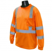 Radians ST21-3POS Type R Class 3 Mesh Safety Shirt - Orange