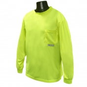 Radians ST21-NPGS Non-ANSI Mesh Safety Shirt - Yellow/Lime