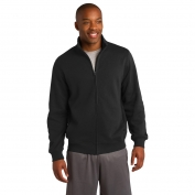 Sport-Tek ST259 Full-Zip Sweatshirt - Black