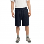 Sport-Tek ST310 Jersey Knit Shorts with Pockets - True Navy