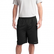 Sport-Tek ST312 PosiCharge Tough Mesh Pocket Shorts - Black