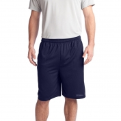 Sport-Tek ST312 PosiCharge Tough Mesh Pocket Shorts - True Navy