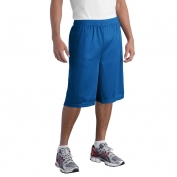 Sport-Tek ST511 Extra Long PosiCharge Classic Mesh Shorts - True Royal